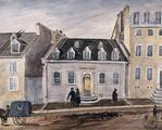 Maison Goldsworthy. Our House, Number 13 St. Ursula St., Quebec, from July 1838 to September 1842, Millicent Mary Chaplin