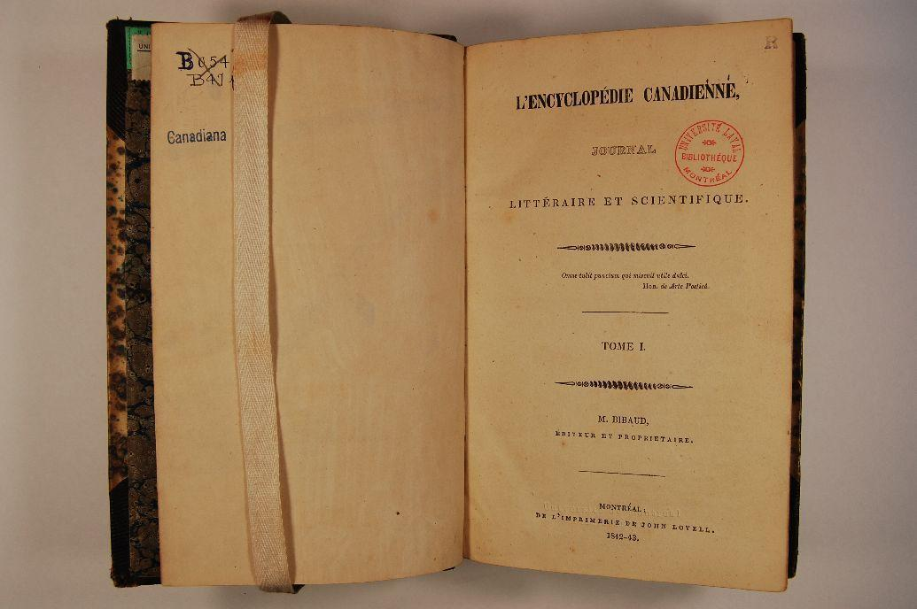 encyclopedie canadienne