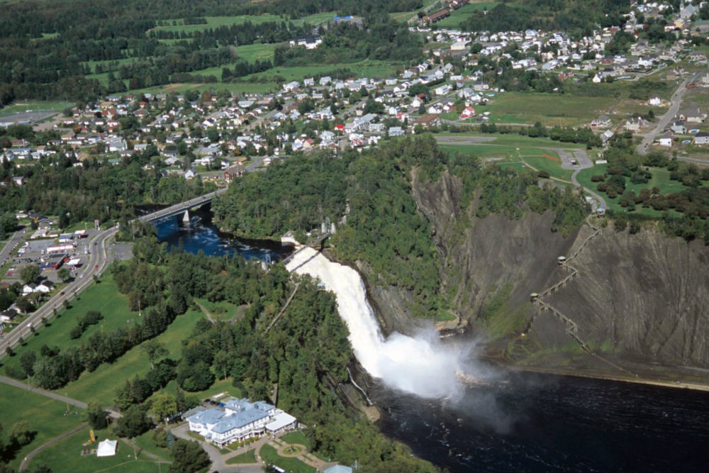 Chutes de montmorency for Domon saint eustache qc
